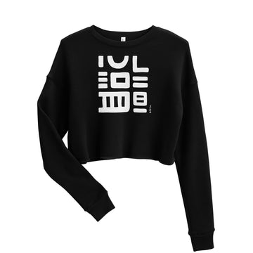 Z | Black Pepper No. 1 Crop Sweatshirt