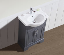 "SoHo 24"" Bathroom Vanity Charcoal Gray"