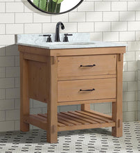 "Marina 30"" Bathroom Vanity Driftwood Finish"