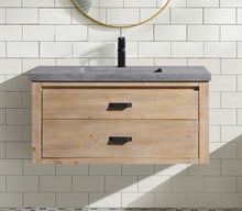 "Kane 36"" Bathroom Vanity Weathered Fir"