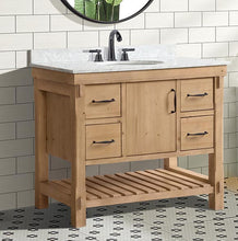 "Marina 42"" Bathroom Vanity Driftwood Finish"