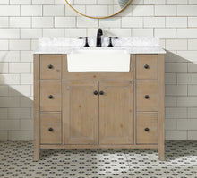 "Sally 42"" Bathroom Vanity Weathered Fir"