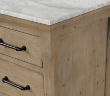 "Lauren 55"" Bathroom Vanity Weathered Fir"