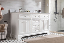 "South Bay 60"" Bathroom Vanity White"