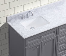 "South Bay 72"" Bathroom Vanity Gray"
