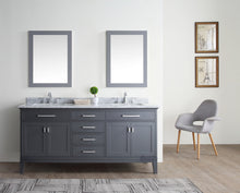 "Danny 72"" Bathroom Vanity Maple Grey"