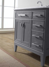 "Danny 36"" Bathroom Vanity Maple Grey"