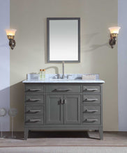 Bathroom Mirror - Maple Grey