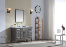 "Danny 48"" Bathroom Vanity Maple Grey"