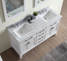 "Danny 60"" Bathroom Vanity White"