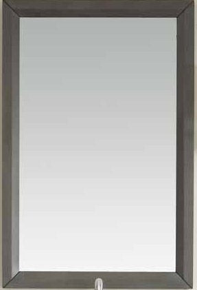 Bathroom Mirror - French Grey