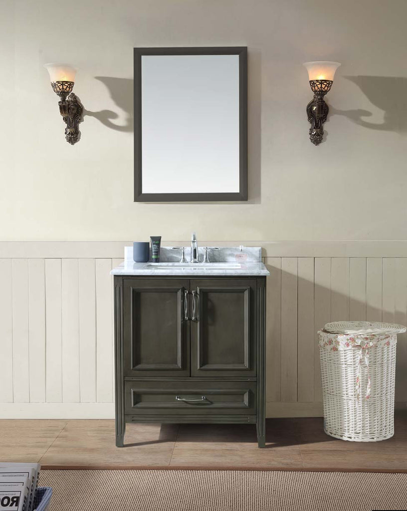 Jude 30 Quot Bathroom Vanity French Grey Ari Kitchen Amp Bath