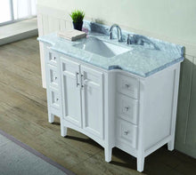 "Luz 48"" Bathroom Vanity White"