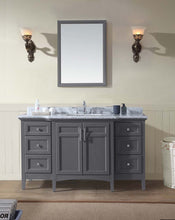 "Luz 60"" Bathroom Vanity Maple Grey"