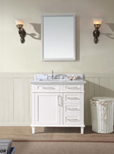 "Newport 36"" Bathroom Vanity White"