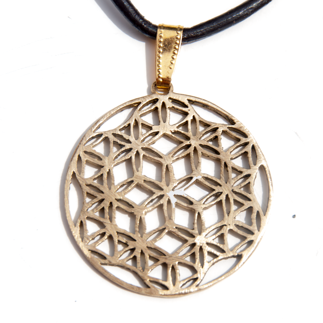 Brass Flower of Life