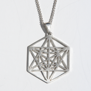 Silver Metatrons Cube