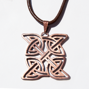 Rose Bronze Celtic Sheild