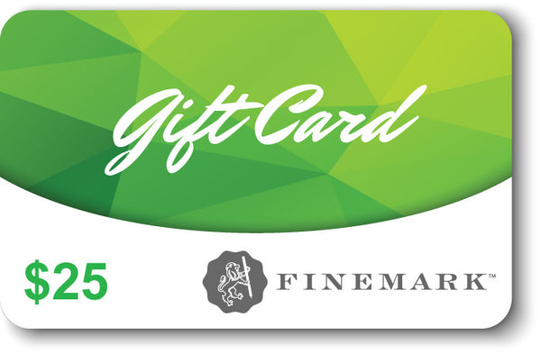 Finemark 25 dollar gift card