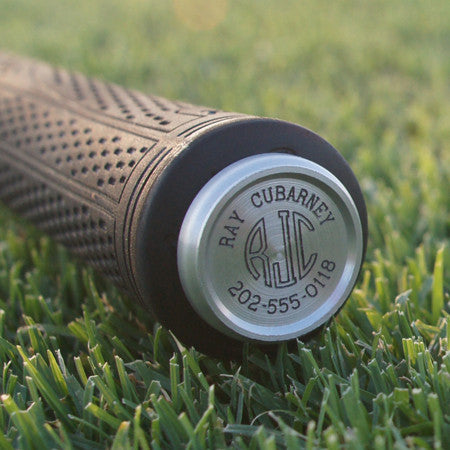 Finemark personalized golf club marker