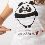 T-shirt Romantic PANDA