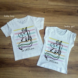 T-shirt Kids UNICORNO