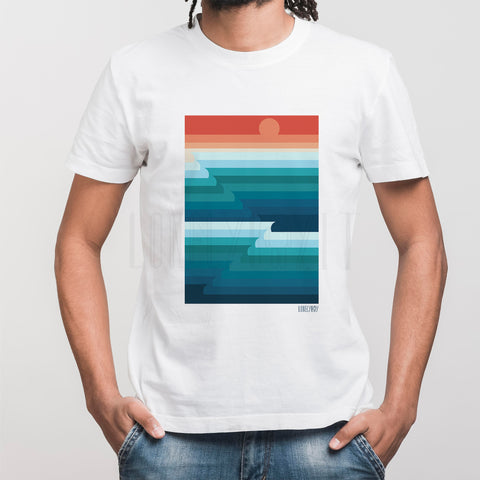 T-SHIRT LONELY BOY - WAVES