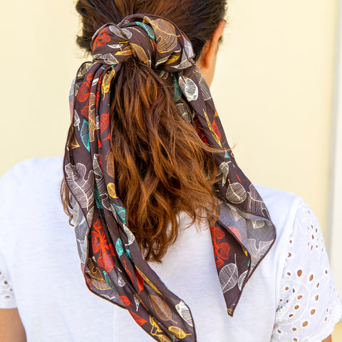 Foulard XS - LEAVES * outlet