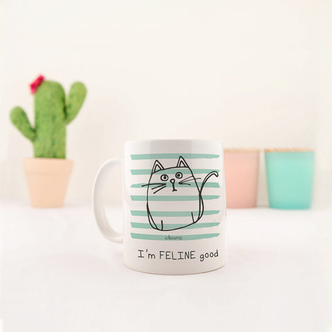 Tazza Gatto - I'm FELINE good