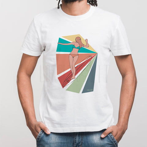 T-SHIRT LONELY BOY - SURFERGIRL