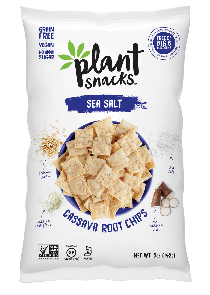Bag of Sea Salt chips