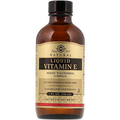 Solgar - Liquid Vitamin E (without dropper) 4 Ounce