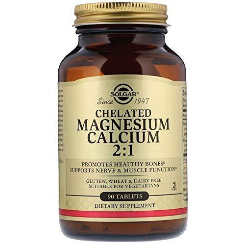 Solgar - Chelated Magnesium Calcium 2:1, 90 Tablets - Vitamins Emporium