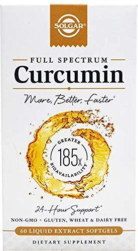 Solgar - Full Spectrum Curcumin Liquid Extract, 60 Softgels - Vitamins Emporium