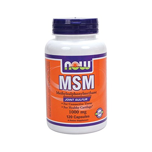 Now Foods MSM (120 Capsules) - Vitamins Emporium