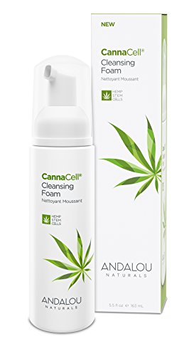 Andalou Naturals CannaCell Cleansing Foam, botanical, 5.5 Fl Oz