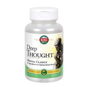 KAL Deep Thought Tablets, 60 Count - Vitamins Emporium