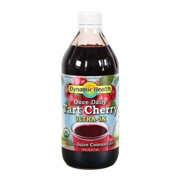 Dynamic Health Tart Cherry Ultra Juice Concentrate, 16 Ounce - Vitamins Emporium