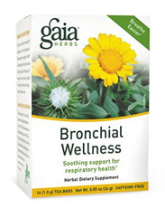 Gaia Herbs Bronchial Wellness Tea - 16 bags