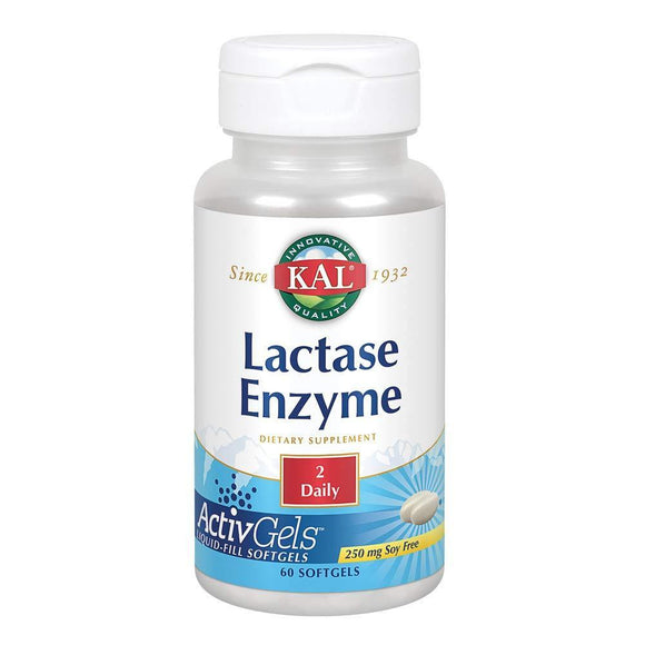 Lactase Enzyme 250 mg. - 60 Softgels - Vitamins Emporium