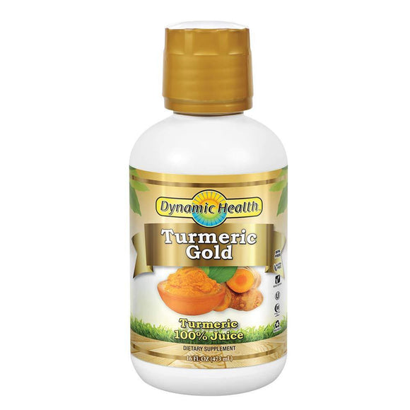 Dynamic Health Labs Turmeric Gold Supplement, 32 Ounce - Vitamins Emporium