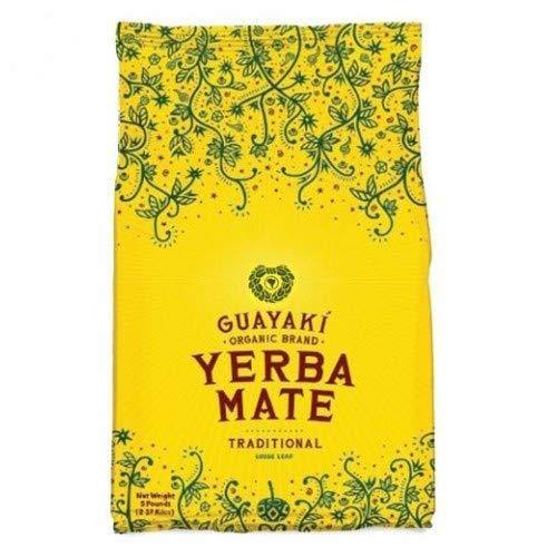 Guayaki Traditional Yerba Mate, 75 Tea Bags  7.9oz (Pack of 2) - Vitamins Emporium