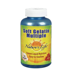 Nature's Life Soft Gelatin Multiple Softgels, 120 Count