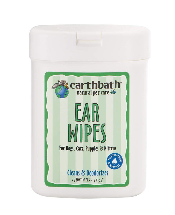 Ear Wipes with Witch Hazel Fragrance Free 25 ct - Vitamins Emporium