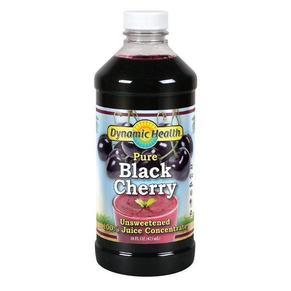 Dynamic Health Black Cherry Concentrate 16 Servings - Vitamins Emporium