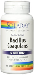 Solaray Bacillus Coagulans VCapsules, 60 Count