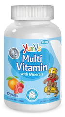 Yum-V's Multivitamin and Multimineral Jellies, Fruit Flavors, 120 Count