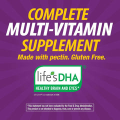 Nature's Way Alive!® Prenatal Premium Gummy Multivitamin with DHA, Fruit and Veggie Blend (150mg per serving), Full B Vitamin Complex, Gluten Free, Made with Pectin, 75 Gummies
