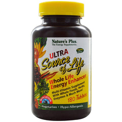 Natures Plus Ultra Source of Life Energy Enhancer Multi With Lutein - 180 Tabs