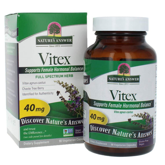Natures Answer Vitex 40mg - Vitamins Emporium